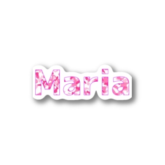 Maria柄 Stickers