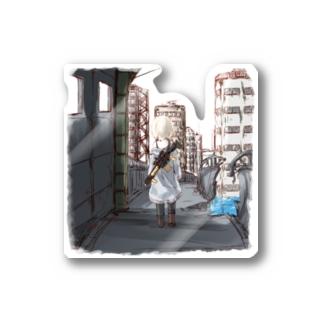 淡彩色のワンダーランド Stickers