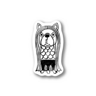 アマビエ兄弟☆びえ次郎 Stickers