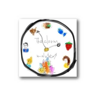 malatatexの時計 Stickers