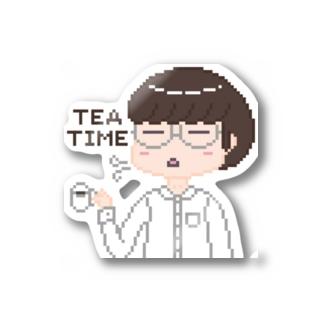 代理くんのTeaTime Stickers
