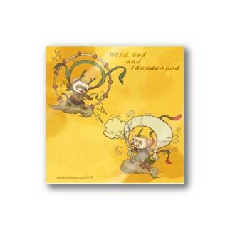 荒ぶる神々01金空 Stickers
