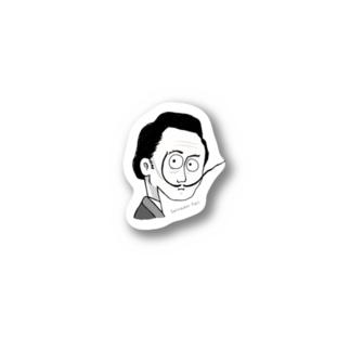 偉人-サルバドール・ダリ- Stickers