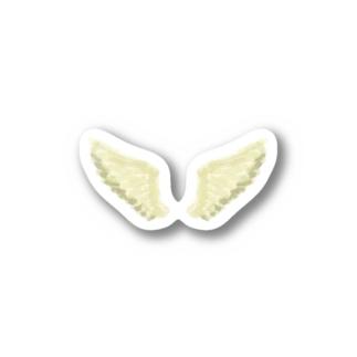 天使の羽 Stickers