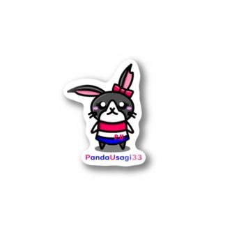 P.U Shopの【P.U】 PandaUsagiちゃん Stickers