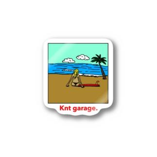 Knt garage Stickers