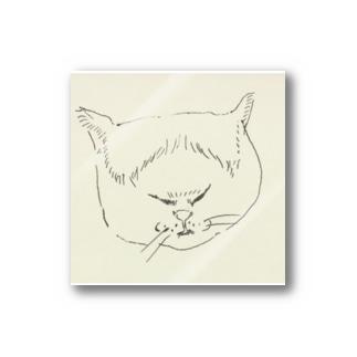 おでこ猫 Stickers