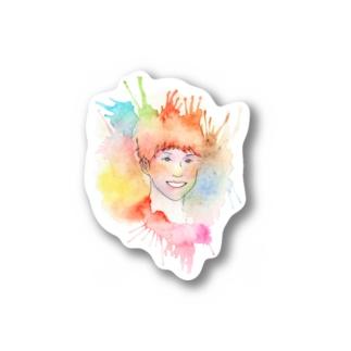 Colorful Portrait Stickers