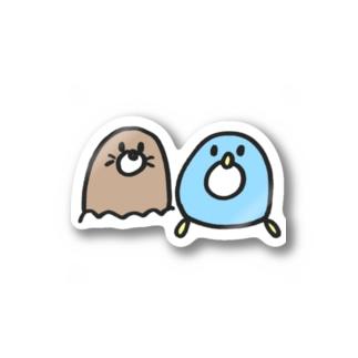 ぺんちゃんともぐくん Stickers