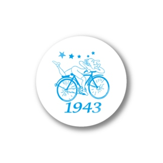 The Bicycle Day-ST-WC Stickers