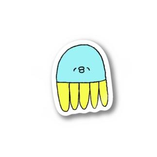 くらげさんのステッカー Stickers