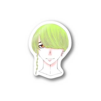 色覚 Stickers