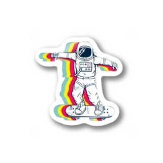87uta 「宇宙飛行士」 Stickers
