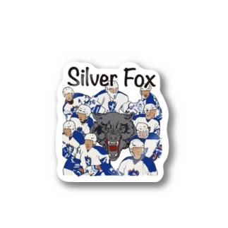 silver fox ALLSTAR color ver. Stickers