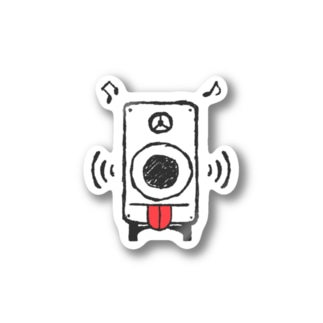さうんどもんすたあ_ver.舌 Stickers