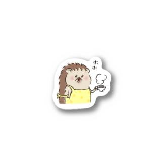 ハリネズミママ Sticker