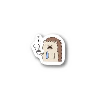 ハリネズミパパ Sticker