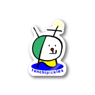 初代とんちゃん Stickers