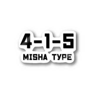 ミシャ式 Stickers