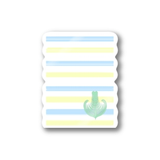 ジェラートラテアート /パイナップル×ブルーハワイ Stickers