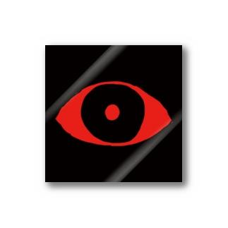赤目シール Stickers