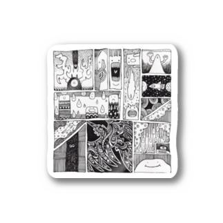 漫画の漫画02 Stickers