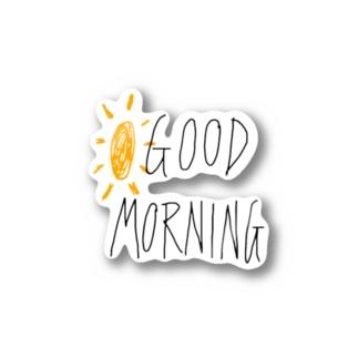 GOOD   MORNING! ステッカー