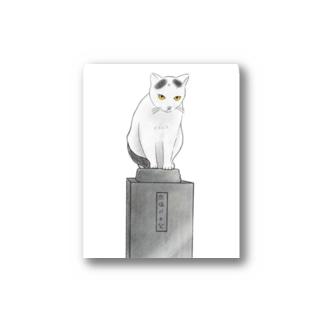 忠猫パチ公 Stickers
