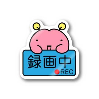 脳ちゃん録画中!! Stickers