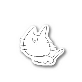 蒼海家の使い魔(白ばーじょん) Stickers