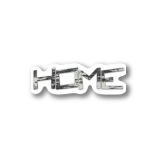 HOME公式グッズ Stickers