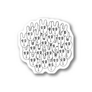 撃鉄太郎共いっぱいグッズ Stickers