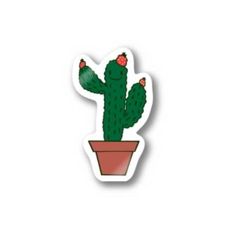 サボテンくん Stickers