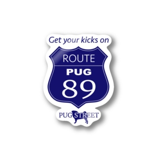 ROUTE 89 Stickers