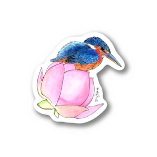 ステッカー カワセミ Stickers