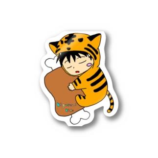 着ぐるみ(とら) Sticker