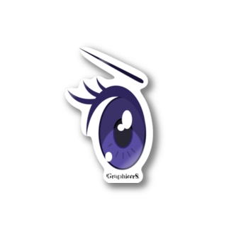 Cartoon Eye Stickers