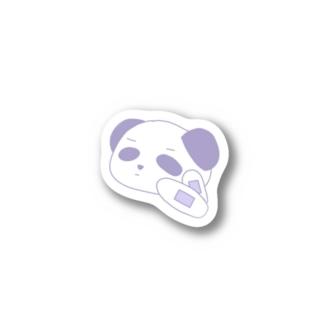 ぱんだすてっかーむらさき Stickers