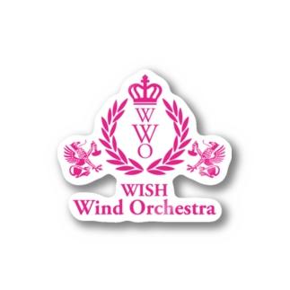 オリジナルロゴ_Pink Stickers