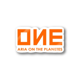 OИE - ARIA ON THE PLANETES - (Ocean Network Express風) Stickers