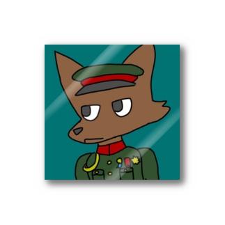 るかりおるの軍服ケモノ(大日本帝国時代の陸軍の軍服) Stickers