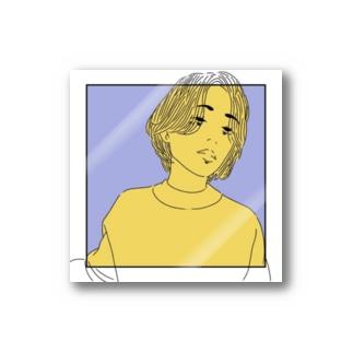 人物画:3 Stickers