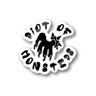 RiOT OF MONSTERS ステッカー Stickers