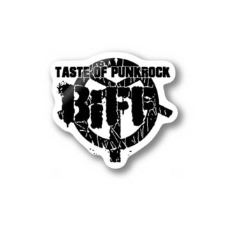 BiFF ロゴステッカー Stickers