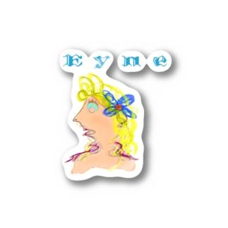 Eyne girl🥊 Stickers