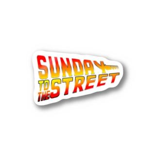 Sunday to the Street ステッカー