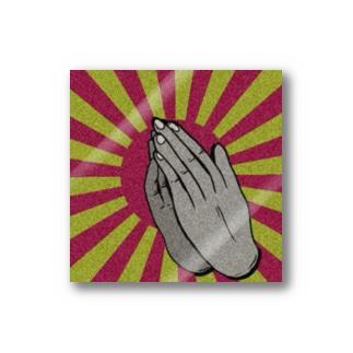 お祈り Stickers