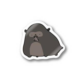 ゴリラハムスター Stickers