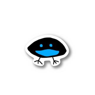 カタカケフウチョウ Sticker