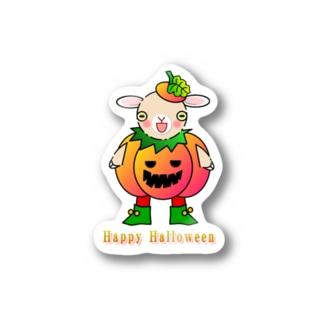 🏠やしおこうの秘密基地のポリー・ドーセットの楽しいハロウィン Stickers